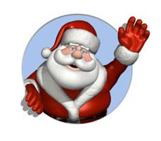 Immagini Simpatiche Di Babbo Natale.Babbo Natale Tante Risorse Su Babbo Natale