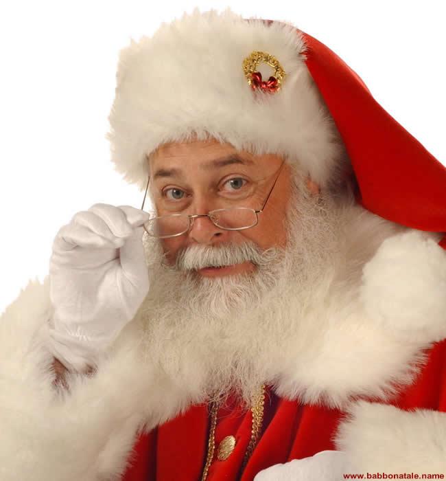 Immagini Babbo Natale - Babbo Natale con occhiali