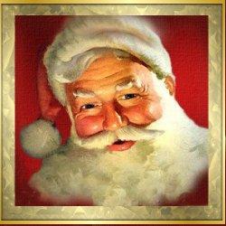 Immagini Babbo Natale - Babbo Natale sorridente