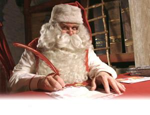 Immagini Babbo Natale - Immagine Babbo Natale lettera