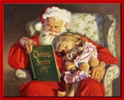 Immagini Babbo Natale - Babbo Natale cantastorie