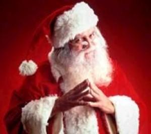 Immagini Babbo Natale - Babbo Natale curioso