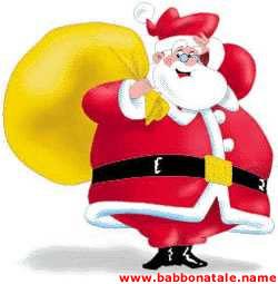 Immagini Babbo Natale - Immagine Babbo Natale con sacco