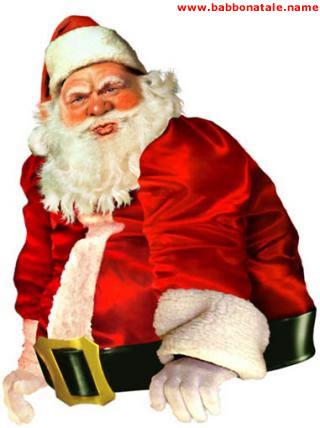 Immagini Babbo Natale - Babbo Natale serio