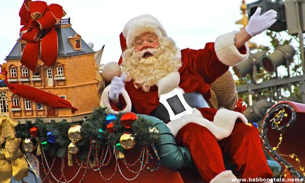 Immagini Babbo Natale - Babbo Natale carro