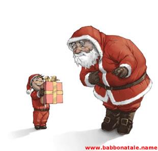 Immagini Babbo Natale - Regalo per Babbo Natale