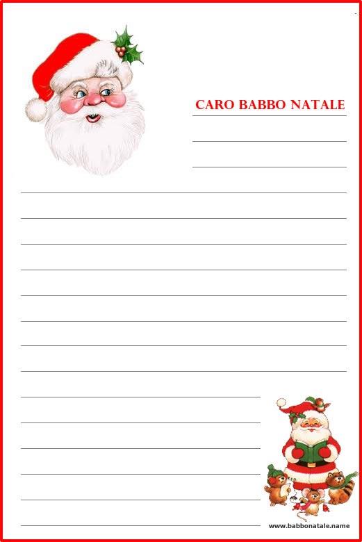 Lettera a Babbo Natale: Lettera Babbo Natale